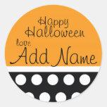 Halloween Treat Bag Sticker