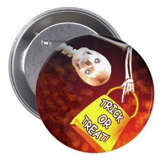 Halloween Treat Pinback Button