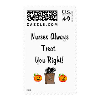 Halloween Treat For Nurses Stamps