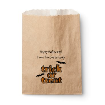 Beach Themed Halloween Treat Party Favor Bag