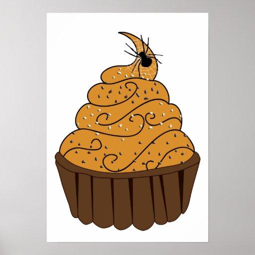 halloween treats cupcakes halloween poster
