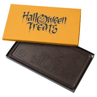 Halloween Treats Dark Chocolate Bar