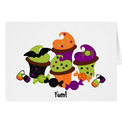 Halloween Treats Greeting Cards