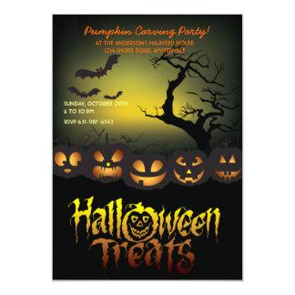 Halloween Treats Invitation