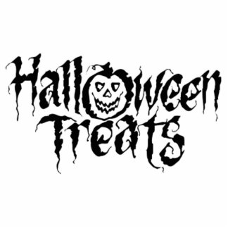 Halloween Treats Acrylic Cut Outs