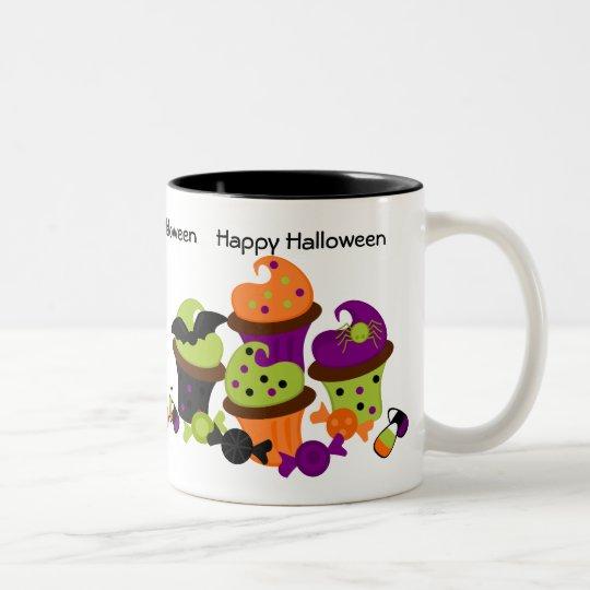 Halloween Treats Two-Tone Coffee Mug
