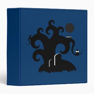 Halloween Tree Vinyl Binder