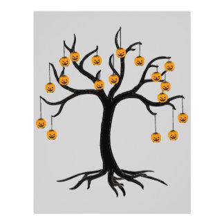 Halloween Tree Jackolanterns Flyer