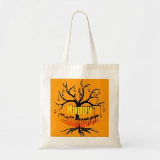 Halloween Tree Jackolanterns Tote Bag