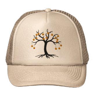 Halloween Tree Jackolanterns Trucker Hat
