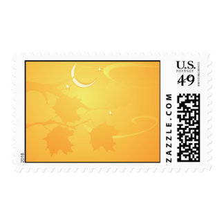 Halloween Tree Postage Stamp