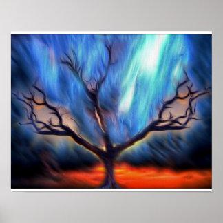 Halloween Tree Poster