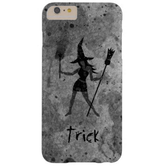 Halloween Trick Custom Witch Barely There iPhone 6 Plus Case