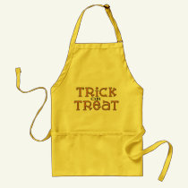 Halloween Trick or Treat apron