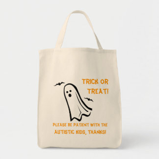 Halloween Trick or Treat Bag - Ghost