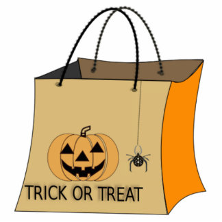 Halloween Trick or Treat Bag Photo Sculptures