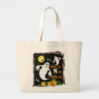 Halloween Trick or Treat Candy Bag bag