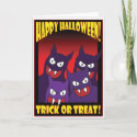HALLOWEEN TRICK OR TREAT                                        CARDS -1 card
