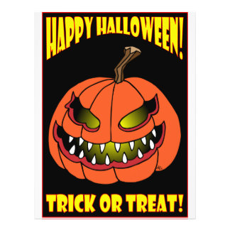 HALLOWEEN TRICK OR TREAT CARDS -1