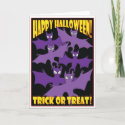 HALLOWEEN TRICK OR TREAT                                        CARDS -2 card