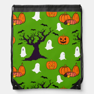 Halloween Trick or Treat Cinch Bags
