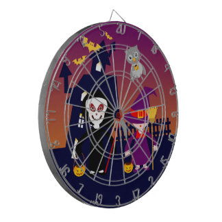 Halloween Trick or Treat Dartboards