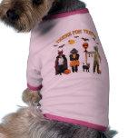 Halloween Trick or Treat Dogs Doggie Tee