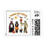 Halloween Trick or Treat Dogs Postage
