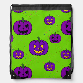 Halloween Trick or Treat Drawstring Backpack