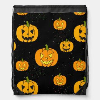 Halloween Trick or Treat Drawstring Bags