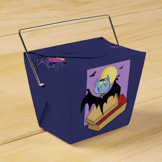 Halloween Trick or Treat Favor boxes peronalized