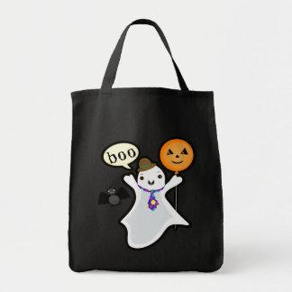 Halloween Trick or Treat Ghost & Friends Bag