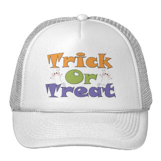 Halloween Trick or Treat Ghosts Hat