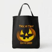 Halloween Trick or Treat Goodie Bag bag