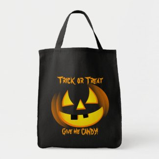 Halloween Trick or Treat Goodie Bag bag