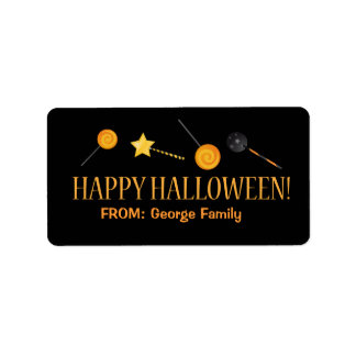 Halloween Trick or Treat Labels