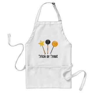 Halloween Trick or Treat Lollipops Adult Apron
