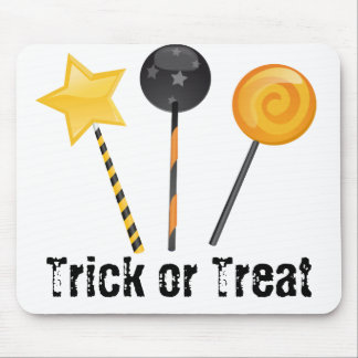 Halloween Trick or Treat Lollipops Mouse Pad