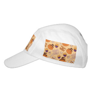 Halloween Trick-or-Treat Pattern Headsweats Hat