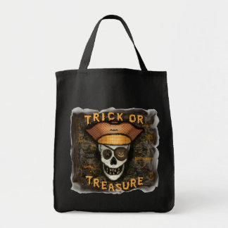 Halloween Trick or Treat  Pirate Bag