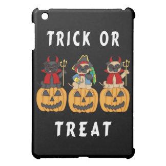 Halloween Trick or Treat Pug Dogs iPad Mini Case