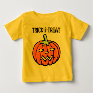 Halloween Trick or Treat Pumpkin Jack-o-lantern Baby T-Shirt