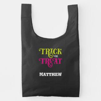 Halloween Trick or Treat Sack Loot Bag
