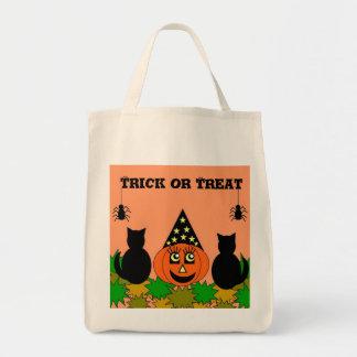 Halloween Trick or Treat Sack Tote Bag