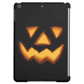 Halloween trick or treat scary pumpkin iPad air case
