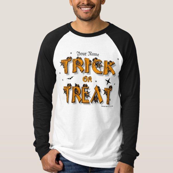 Halloween - Trick or Treat Shirt (#8)