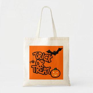 Halloween Trick Or Treat Tote Bag