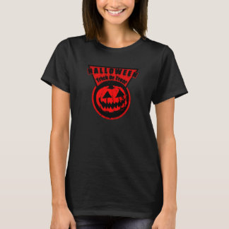 Halloween -Trick Or Treat Triangle Neon Orange T-Shirt