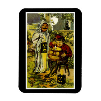 Halloween Trick or Treaters Magnet