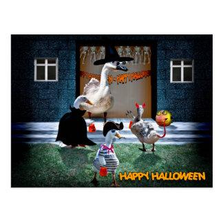 Halloween Trick or Treats Time! Postcard